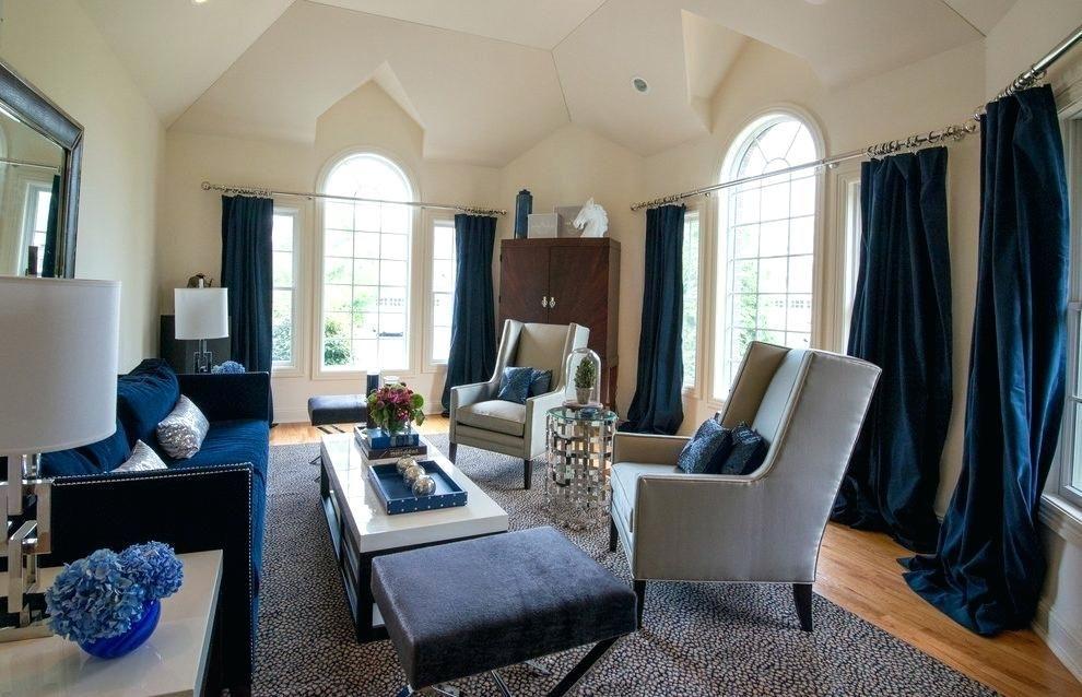Image Result For Navy Curtains Tan Sofa Furniture Design Living Room Fresh Bedroom Navy Curtains Living Room #navy #living #room #curtains