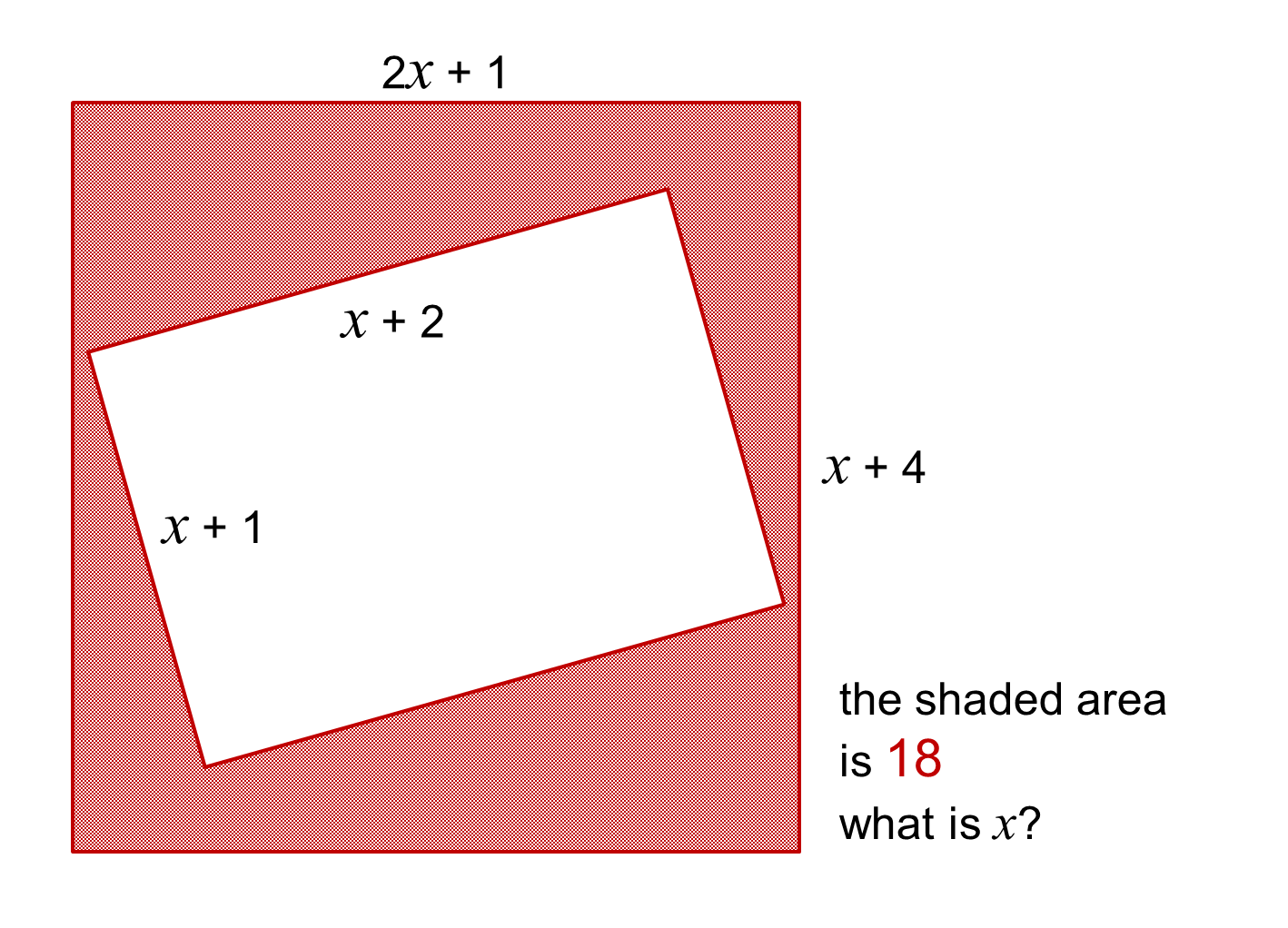 Median Don Steward Secondary Maths Teaching Form And Solve A Quadratic