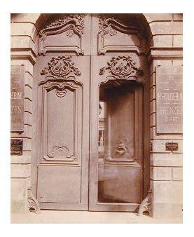 Hôtel [du President] de Tauley, 64 rue de Turenne By Eugène Atget ...