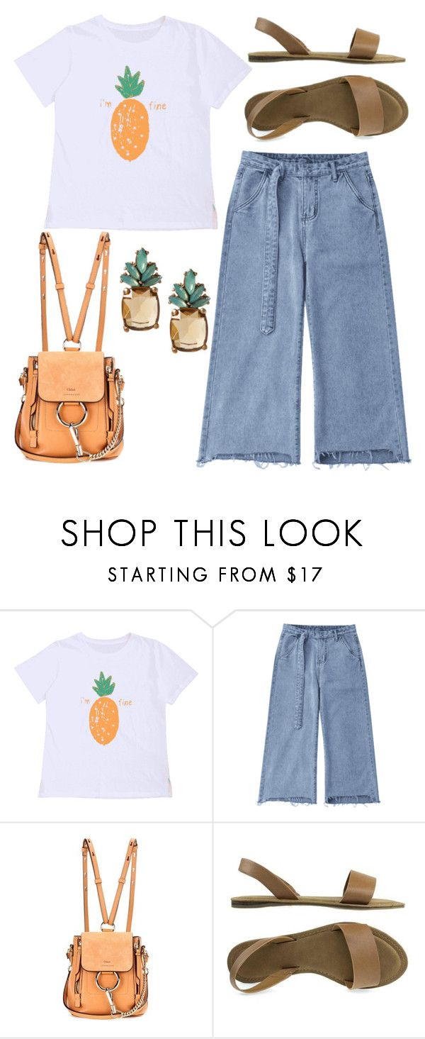 """""""Untitled #912"""" by helenaki65 ❤ liked on Polyvore featuring Chloé and Banana Republic"""