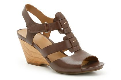 womens casual sandals  popple rumba in ebony leather from