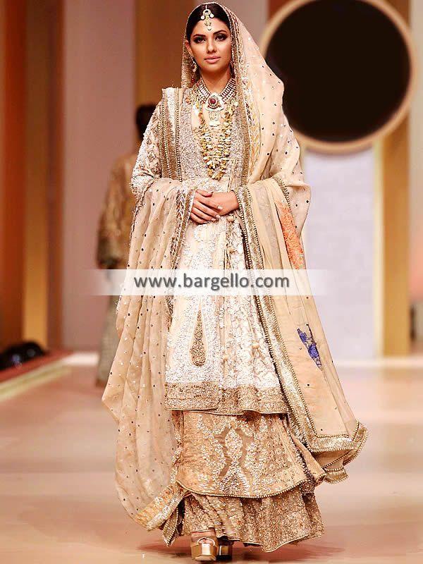 d81b1c1bce Stunning Angrakha Style Bridal Dress for Brides Stunning angrakha style bridal  dress to make your