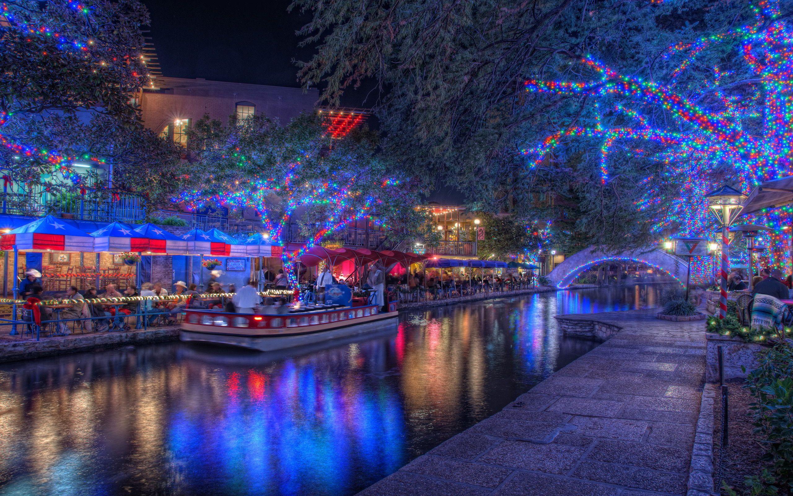 Christmas San Antonio Texas 8865754 Christmas Scenery Christmas Lights Wallpaper Christmas Lights Background