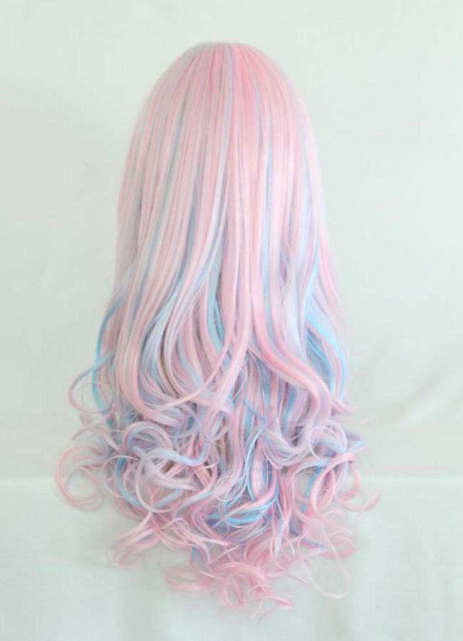 Pink Teal So Awesome Cotton Candy Hair Cute Hair Colors