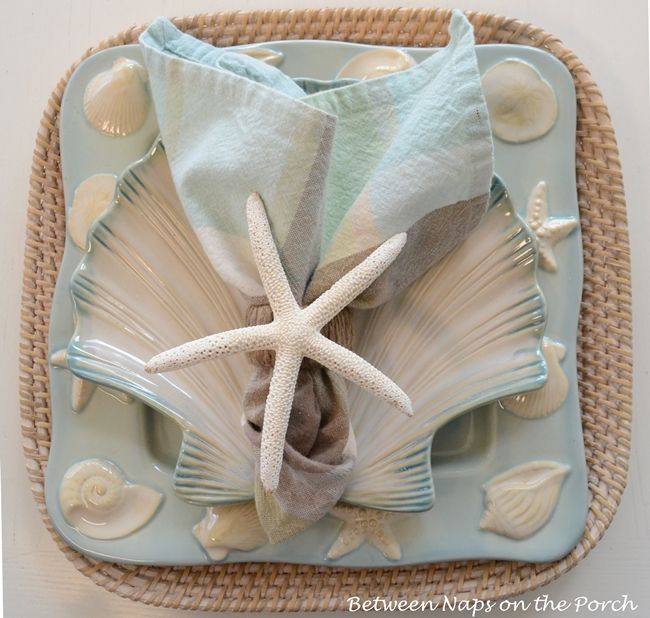 Make A Starfish Napkin Ring A Pottery Barn Knock Off