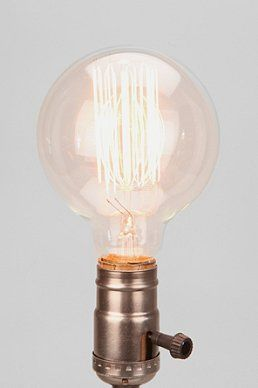 Edison 40Watt Nostalgic Thread Circle Light Bulb | my new