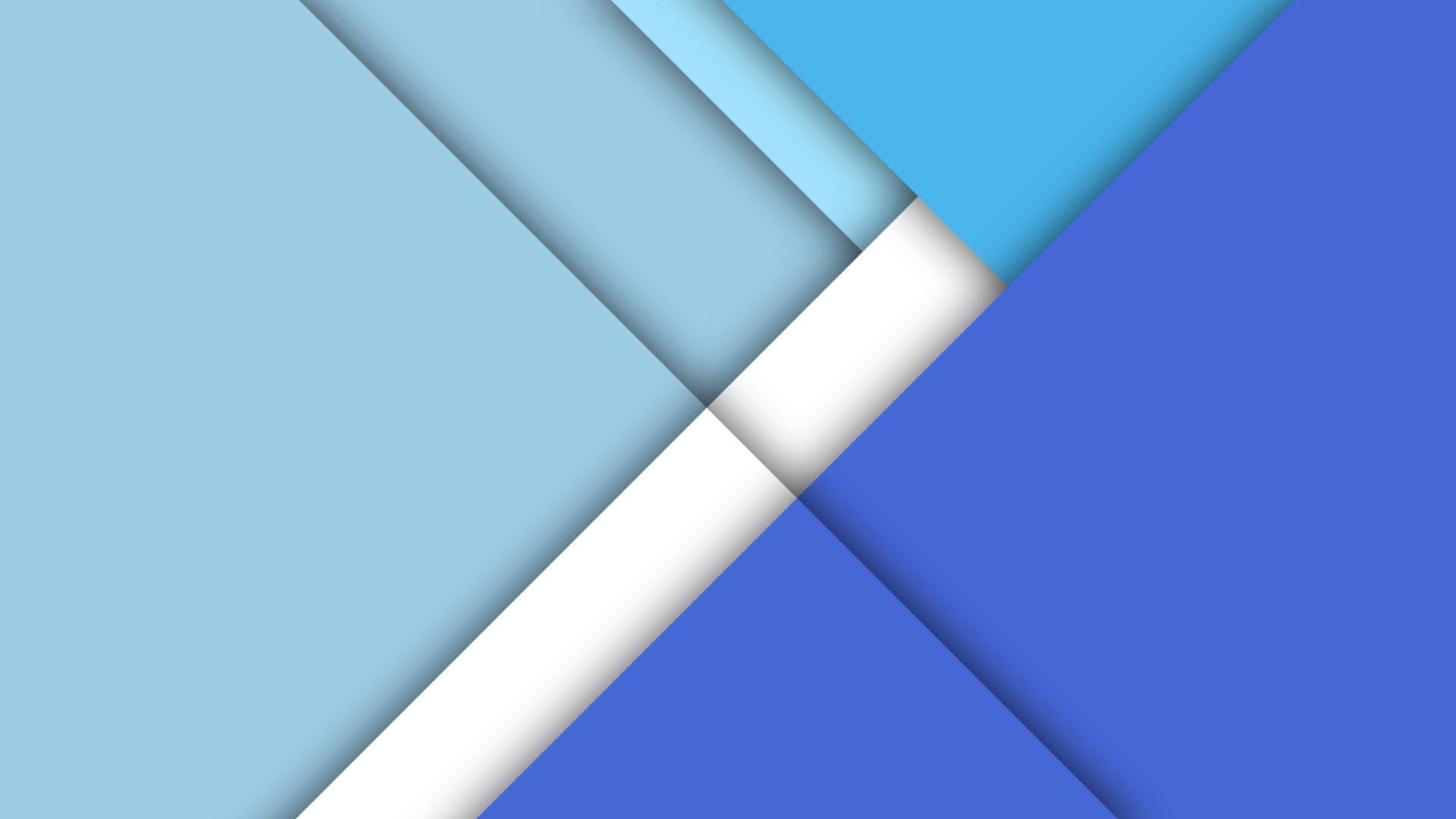 Blue White Material Design Minimal Art Material Minimalist 1080p Wallpaper Hdwallpaper De In 2020 Abstract Wallpaper Blue Wallpapers Blue Background Wallpapers