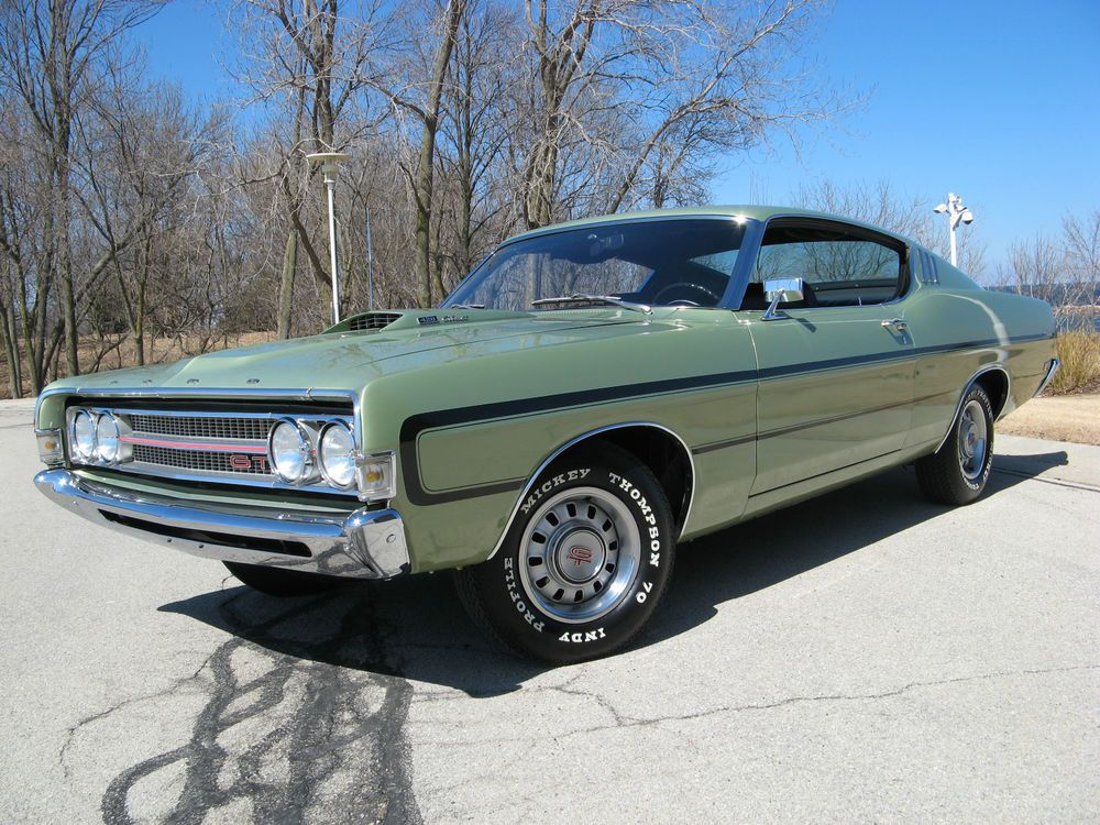 1969 Ford Torino Gt Sports Roof Fastback Ford Torino Fairlane
