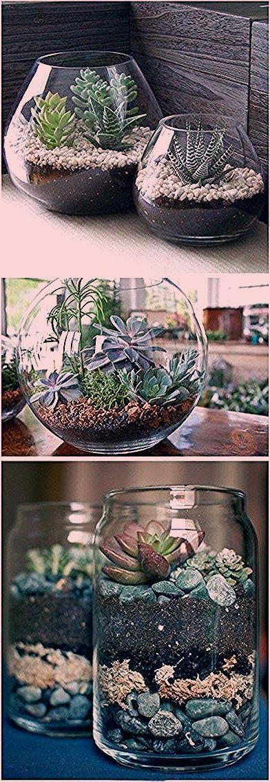Photo of 21 Simple Ideas For Adorable DIY Terrariums
