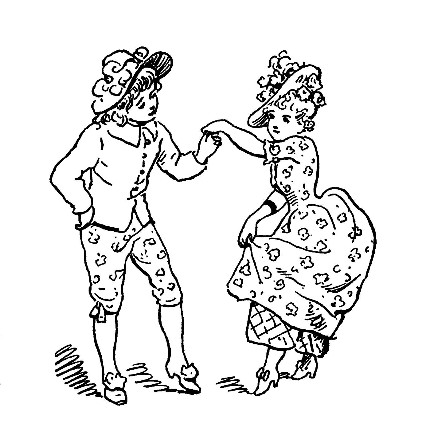 Free coloring pages vintage