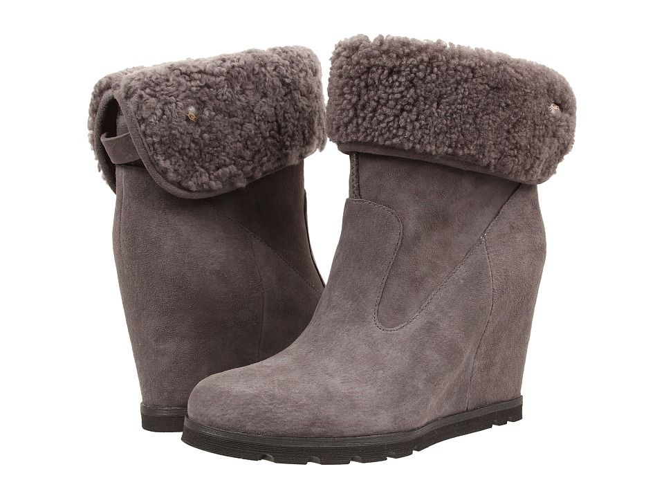 Womens Boots UGG Kyra Granite Suede