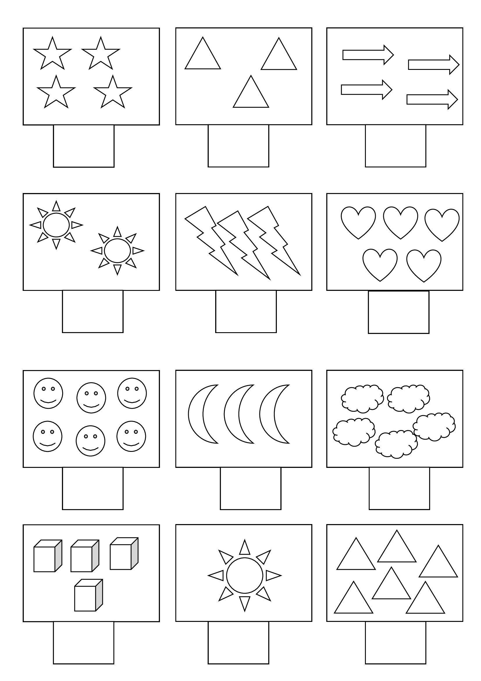 Numbers Worksheets For Kids First Grade Numbers
