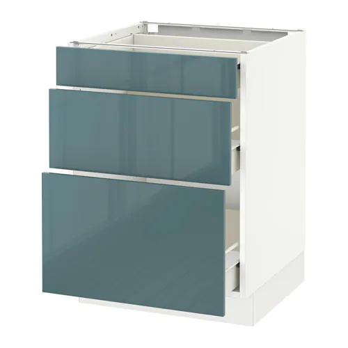 Best Base Cabinet With 3 Drawers White Förvara Bodbyn Gray 400 x 300