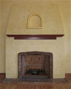 Mediterranean tile fireplace designs google search for Mediterranean fireplace designs