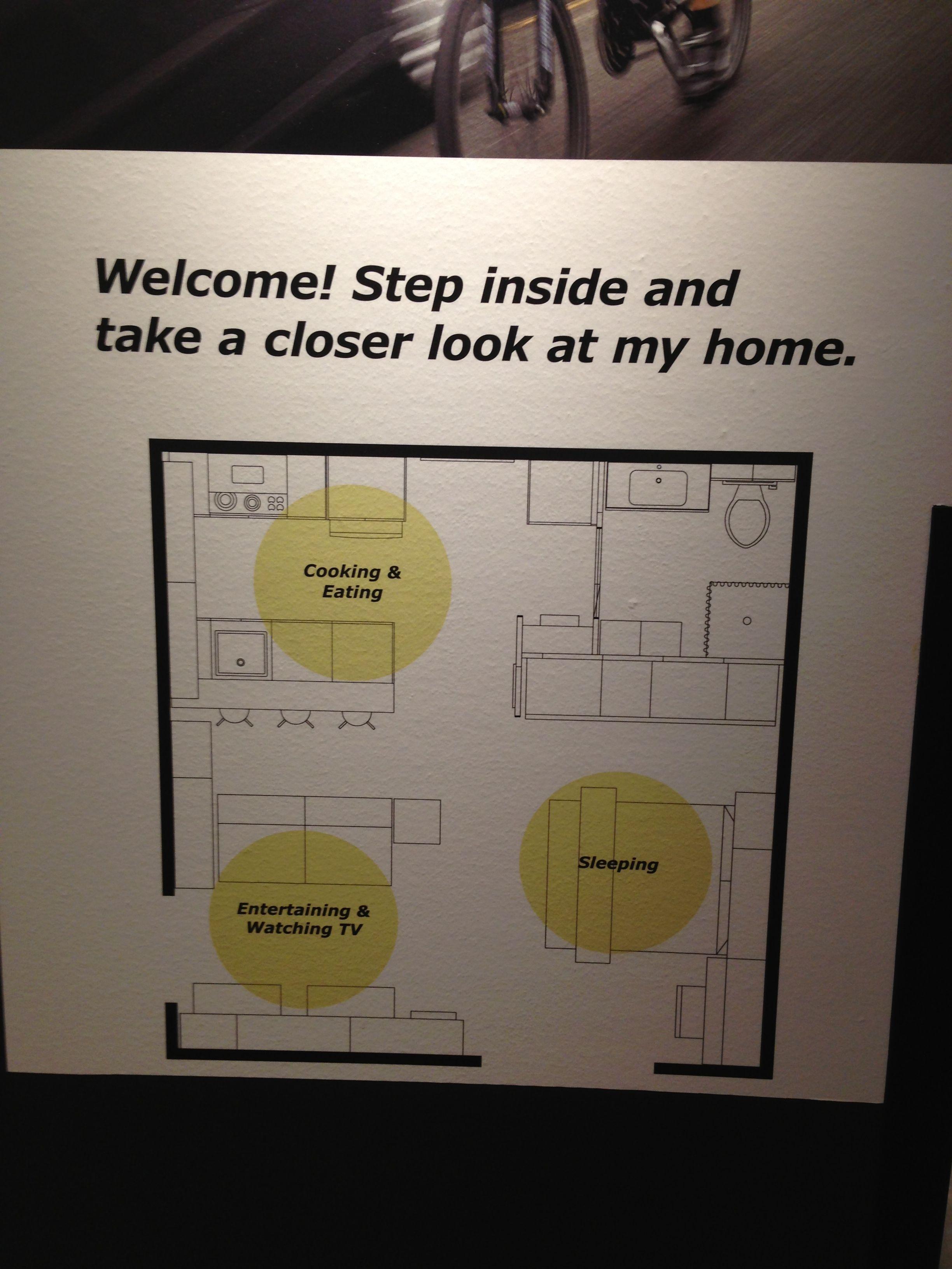 380 sq ft studio apartment i love ikea pinterest for 380 square feet floor plan