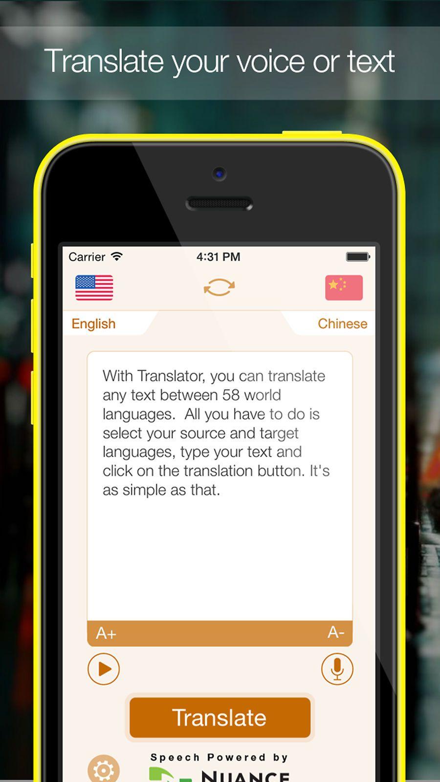 Translator Ios Apps App Education App Ios News Iphone Deals