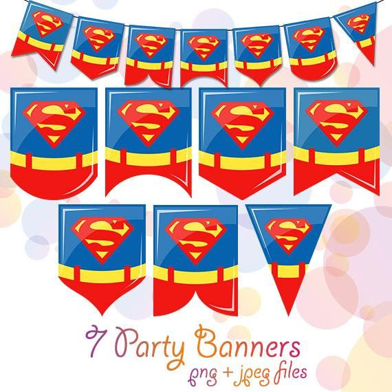 7 superman superhero printable