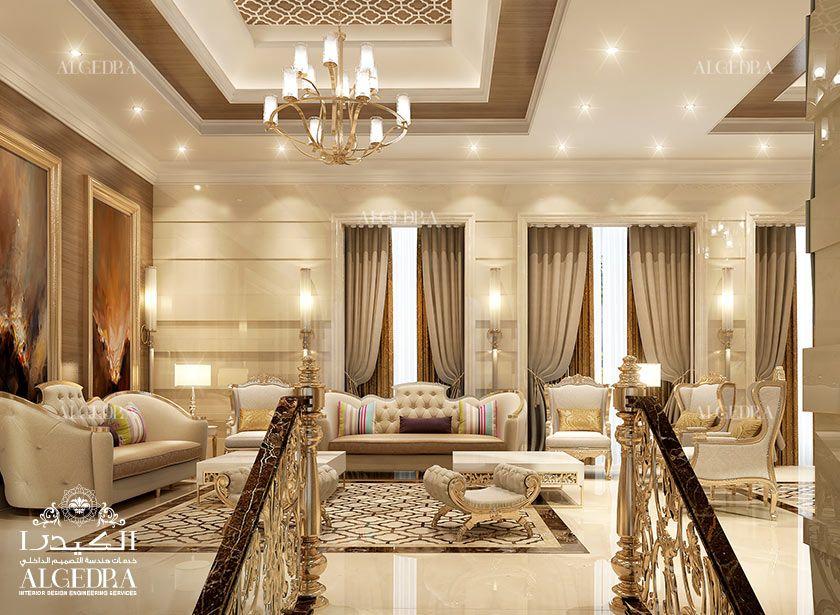 Majlis Interios Design Photos by Algedra Interior UAE | High Life Living ... in 2019 | Drawing ...