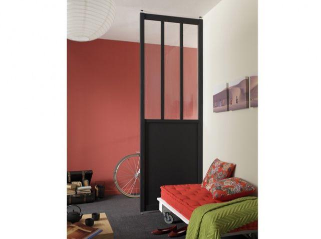 Les portes coulissantes jouent les cloisons avec succès ! House - porte coulissante style atelier