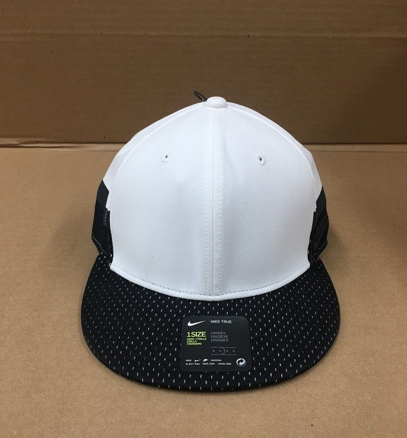 3d1262d0463 NIKE TRUE SNAPBACK HAT WHITE   BLACK MENS ONE SIZE 850544 100 NEW  fashion   clothing  shoes  accessories  mensaccessories  hats (ebay link)