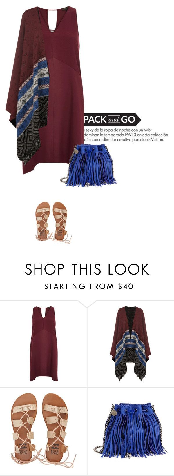 """""""Mexico City #2"""" by anja-173 ❤ liked on Polyvore featuring Louis Vuitton, River Island, WearAll, Billabong, STELLA McCARTNEY and Packandgo"""