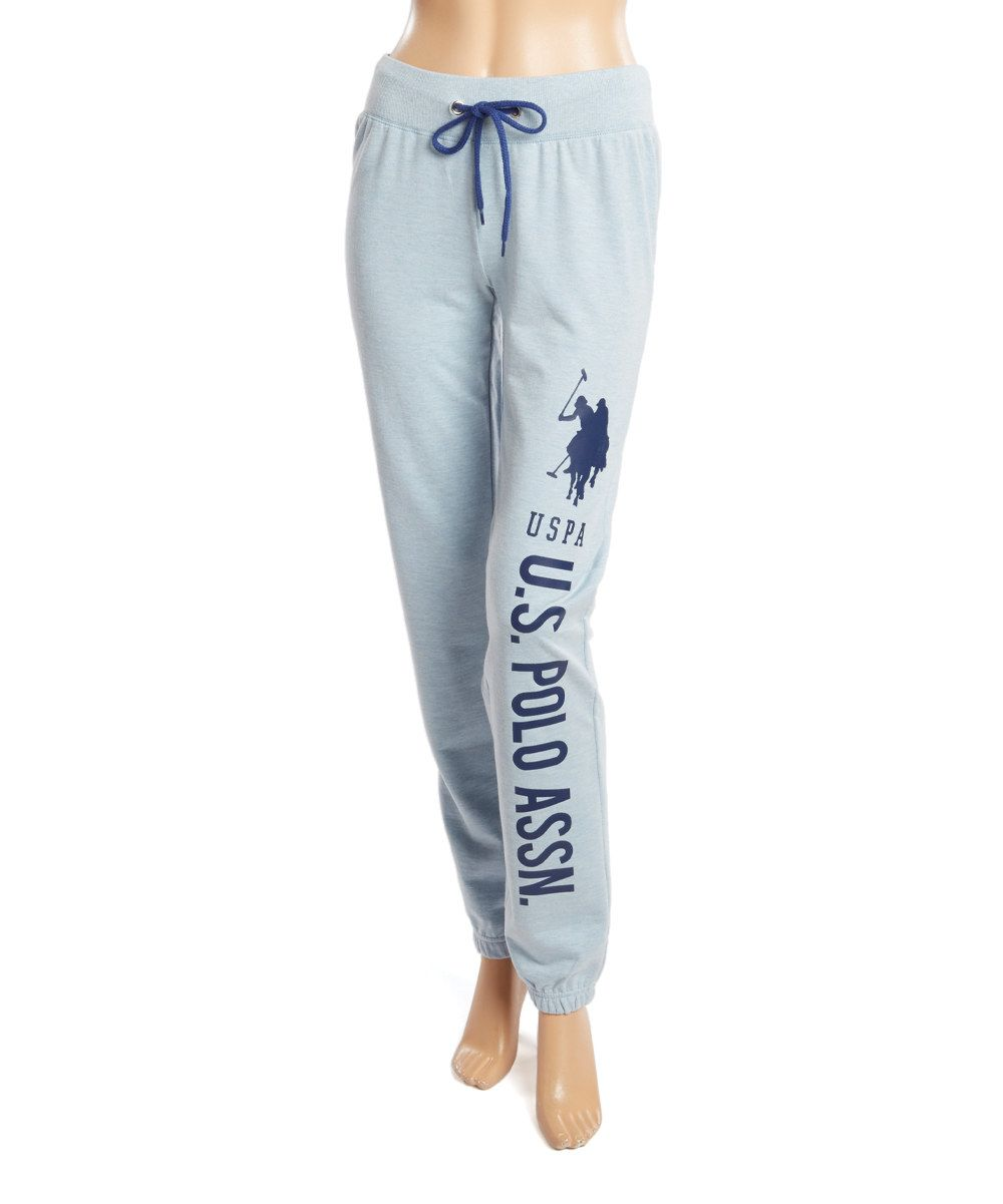 U S Polo N Blue Yonder Heather Jogger Cotton Pajama Pants Zulily 12 99 28 00 Size Chart M L Xl Product Description These Comfy Casual