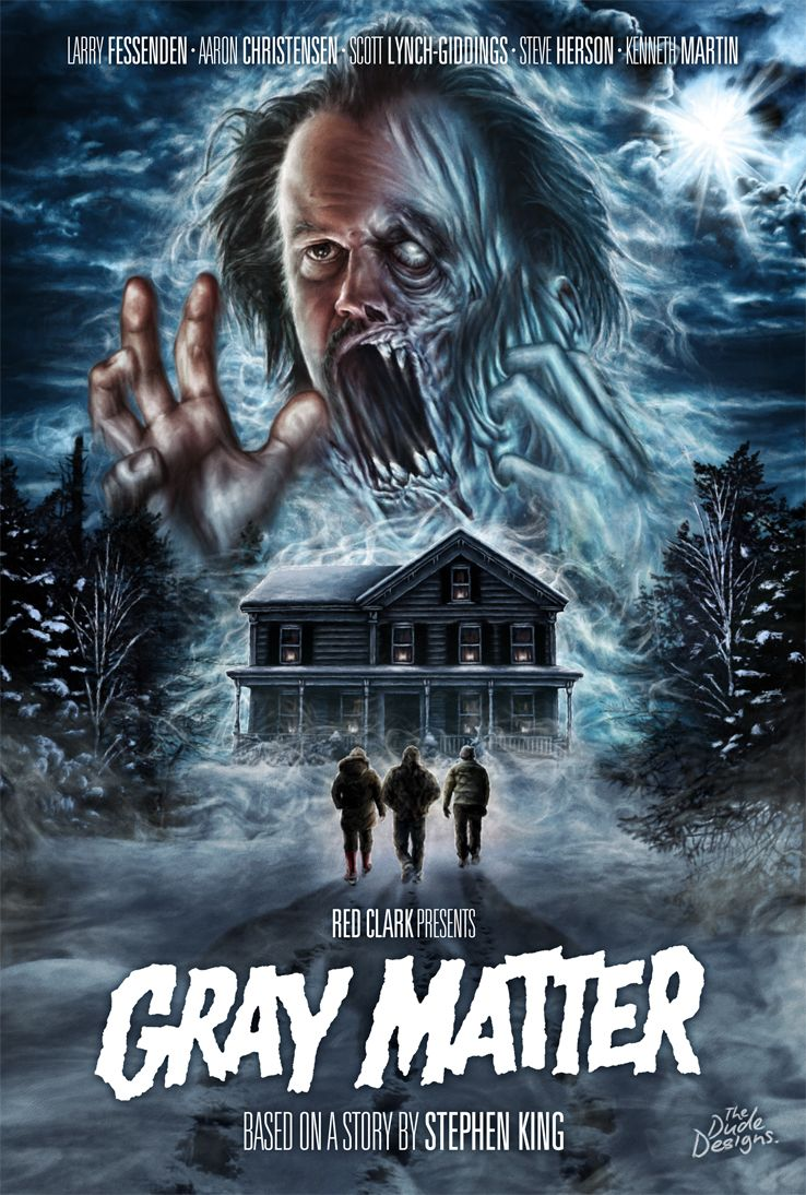 Gray Matter (2017) Horror movie posters, Horror movie