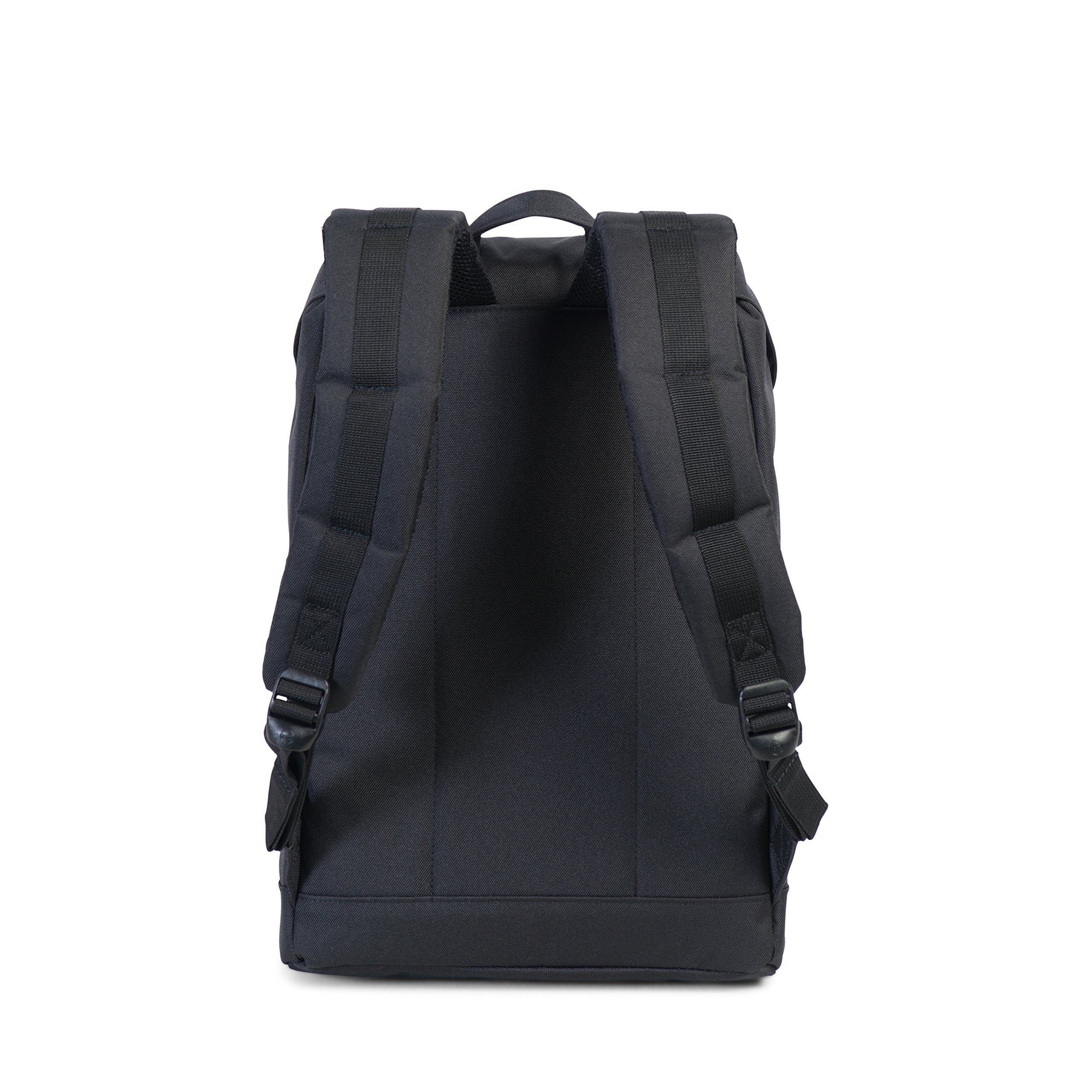 a5d35c6517e6 Herschel Supply Co. Retreat MidVolume Backpack Black Tan Synthetic Leather      Want