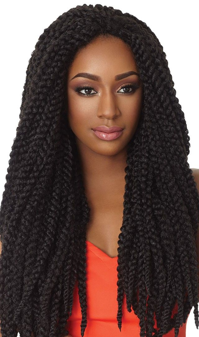 Outre X Pressions Crochet 3did 24 Inch
