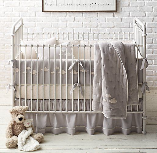 Bouclé Cloud Nursery Bedding Collection Restoration Hardware Baby Child