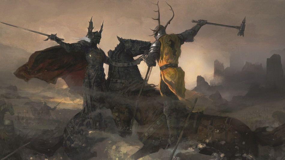 Robert Baratheon Vs Rhaegar Targaryen Artist Justin Sweet Fire Art Game Of Thrones Art Asoiaf Art