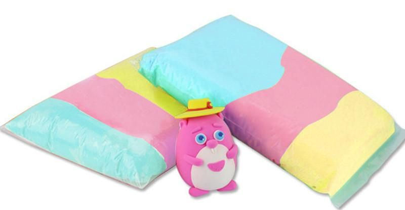 Fluffy Foam Slime | Foam slime, Slime, Plasticine