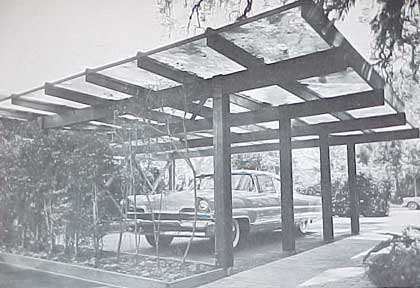 1960s Mid Century Modern Carports And Garages Design Book Mid Century Modern House Plans Modern Carport Mid Century Modern House