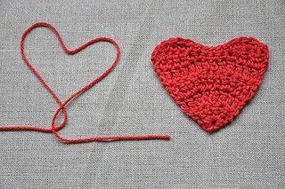 heart crochet pinterest - Pesquisa Google