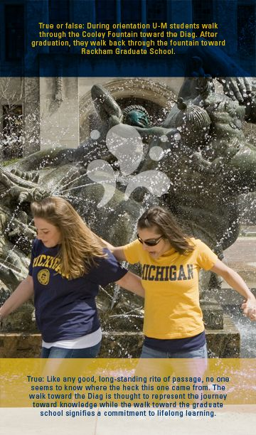 Myths + Legends about the University of Michigan