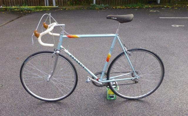 Retro Vintage Original Peugeot Road Racing Bike Reynolds 501 Racing Bikes Vintage Racing Bike Road Racing Bike