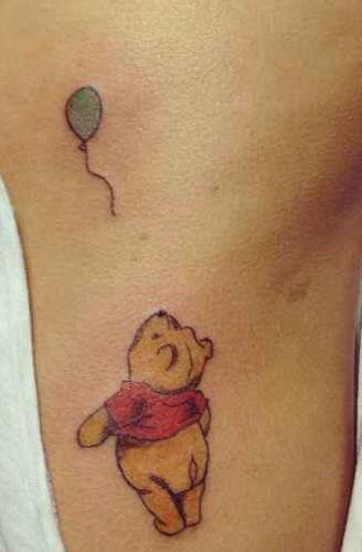 Winnie the pooh wrist tattoo 2