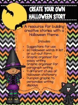 Halloween Narrative Writing Creative Center Essay