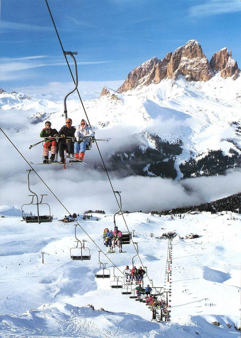 val di fassa - dolomiti | Ski trip, Snow skiing, Winter photos