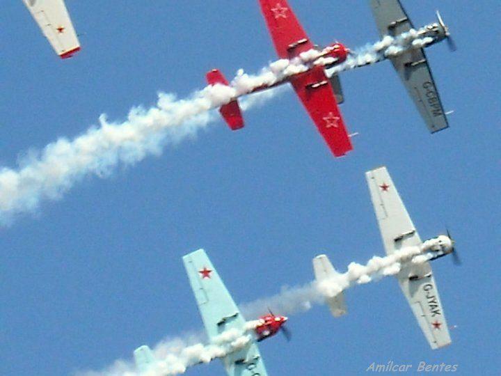 Festival aéreo em Portimão