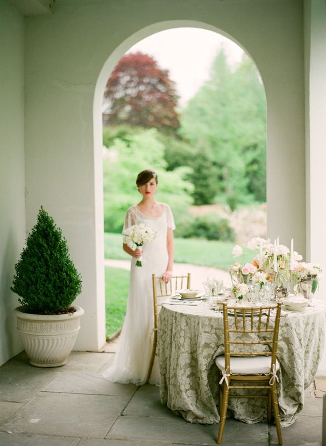Downton Abbey Styled Shoot from Stacy Able  Read more - http://www.stylemepretty.com/2013/10/22/downton-abby-styled-shoot-from-stacy-able/