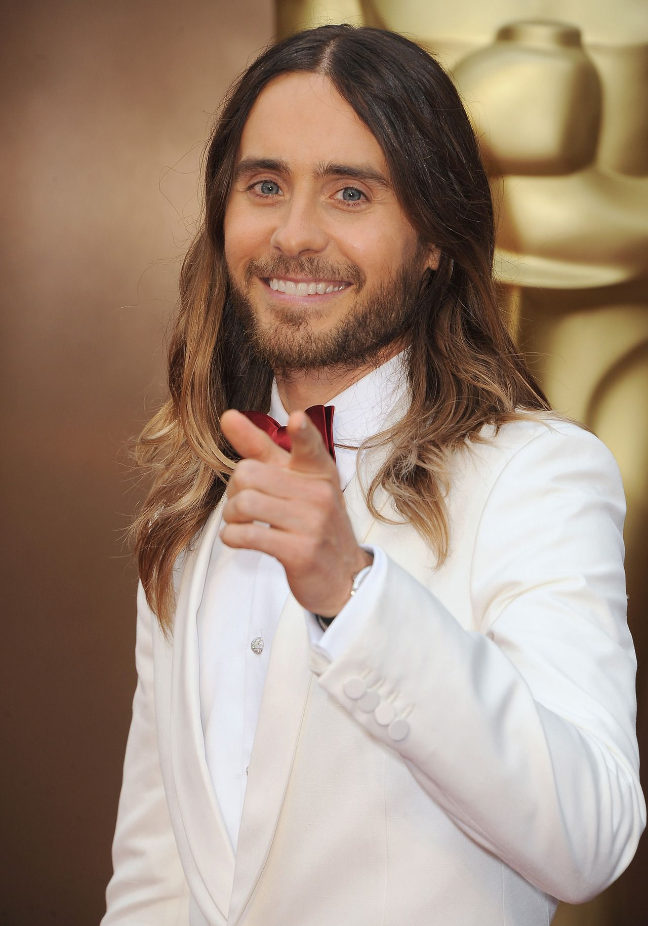 jolieing:   Jared Leto attends the Oscars held at Hollywood & Highland Center on March 2, 2014 in Hollywood, California.