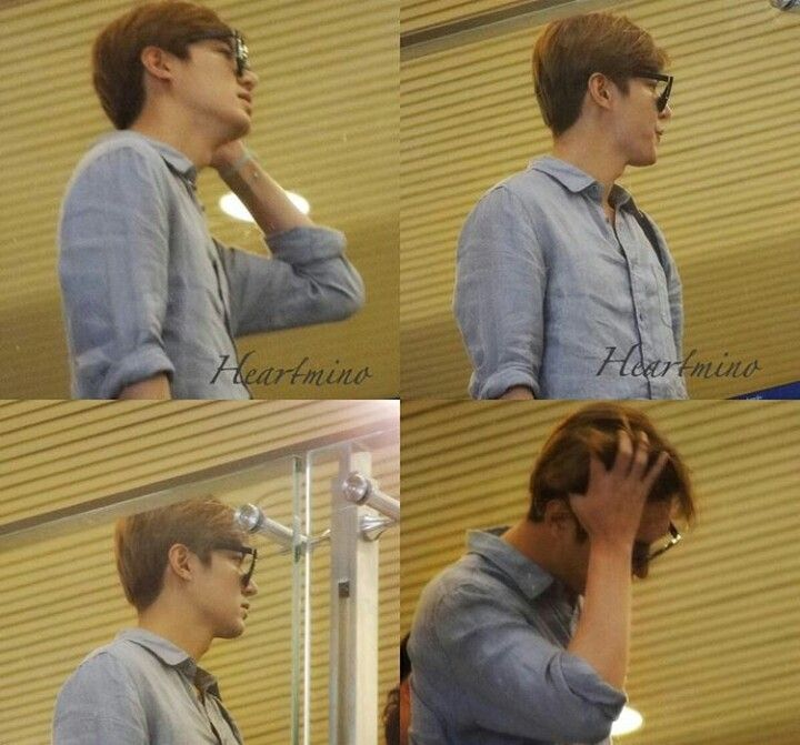 Lee Min Ho in Airport
