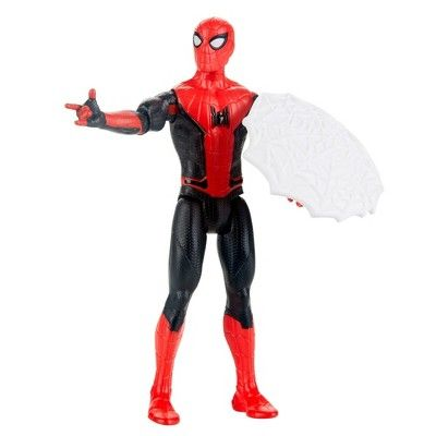 """SPIDER-MAN 2 Far From Home 6/"""" Spider-Man Web Shield HASBRO ACTION FIGURE NEW"""