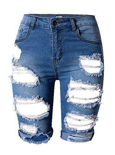 Sweatwater Toddler Boy Classic Elastic Waist Printed Cotton Waist Hot Pants Denim Shorts
