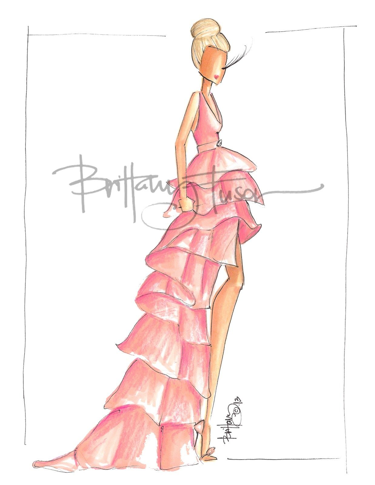 Barb [ brittanyfuson.blogspot.com ] | Fashion ilustration ...