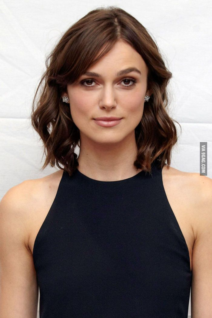 Keira Knightley Keira Knightley Hair Face Shape Hairstyles Square Face Hairstyles