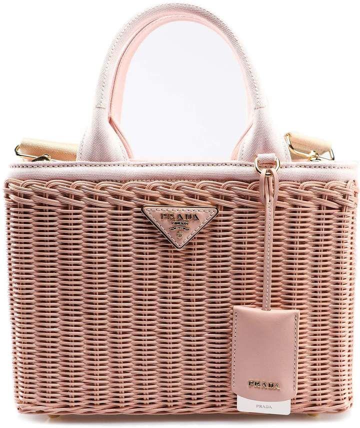 Photo of Prada Handbag Wicker