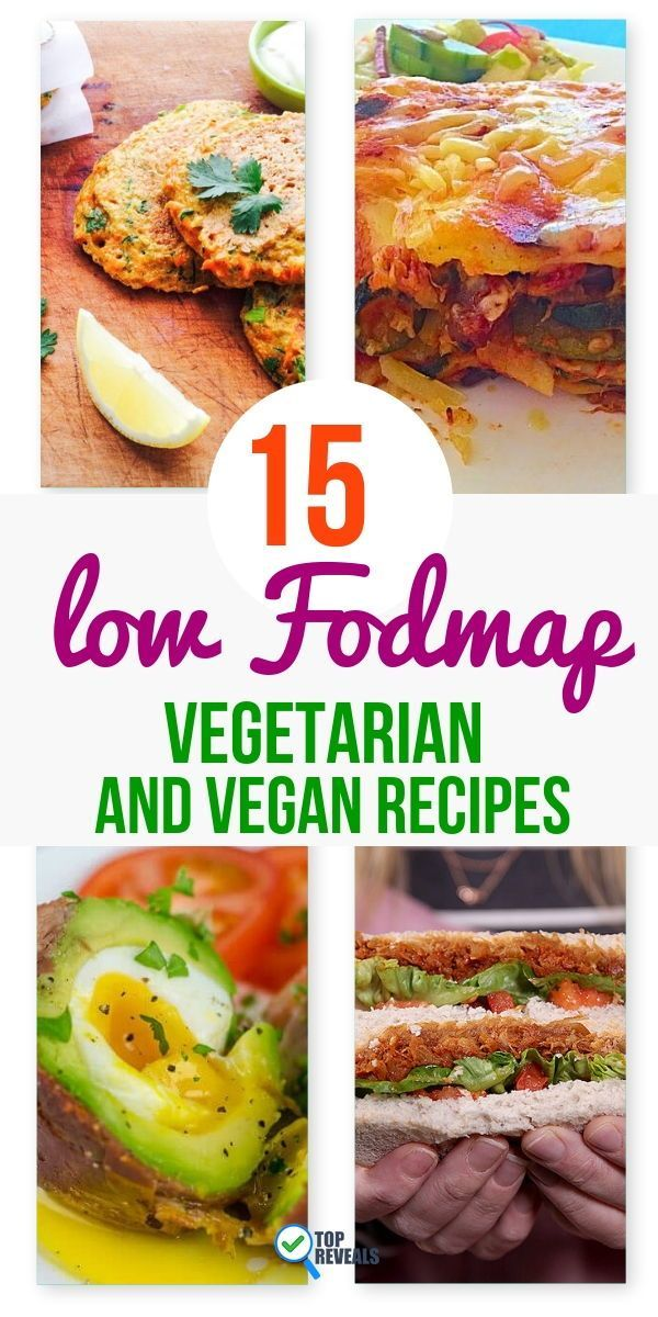 15 Low Fodmap Vegetarian and Vegan Recipes images