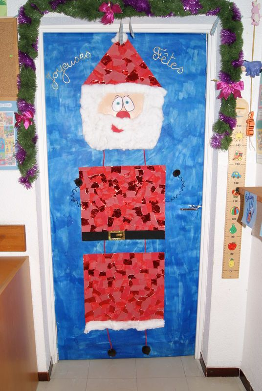 La porte de ma classe noel pinterest photos de no l for Decoration porte noel ecole